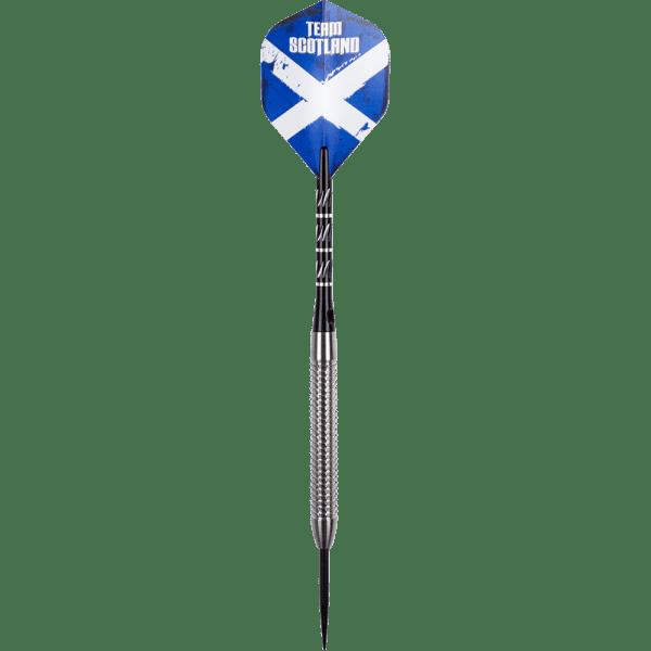 Team Scotland Giga Grip 1 Steeldarts - 24g