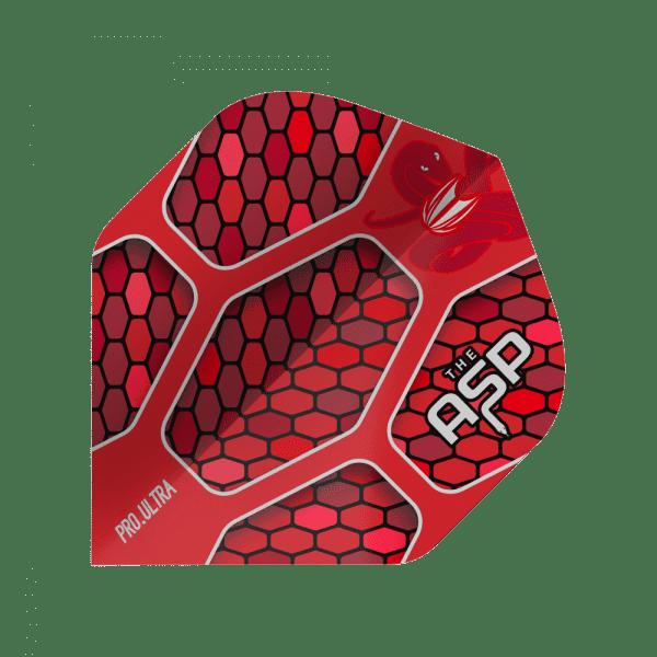 5 Satz Target Nathan Aspinall Pro.Ultra Red No2 Flights