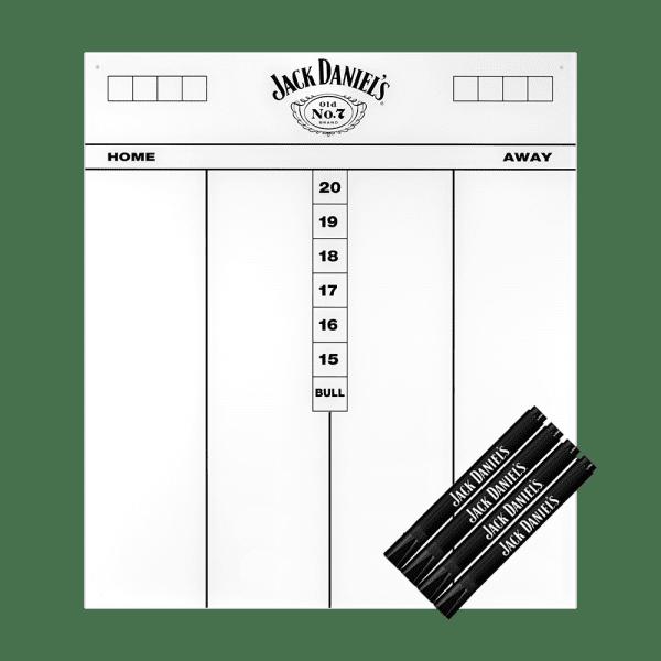 Mission Jack Daniels Flex Scoreboard 45 x 40 cm - Weiß
