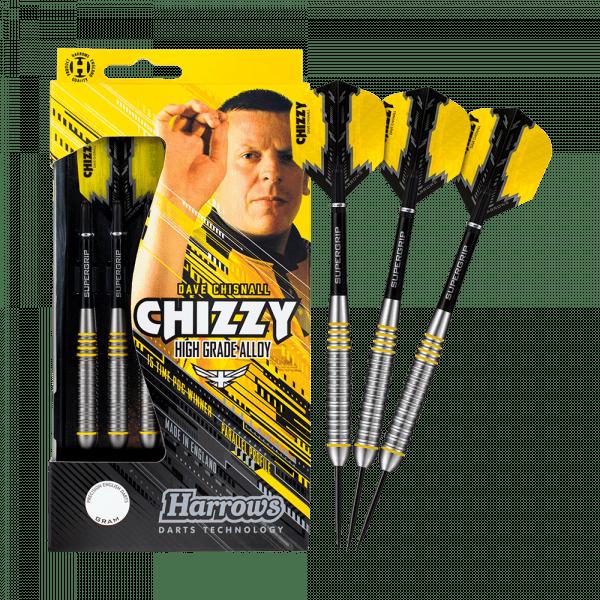 Harrows Dave Chisnall Chizzy Brass Steeldarts - 24 g