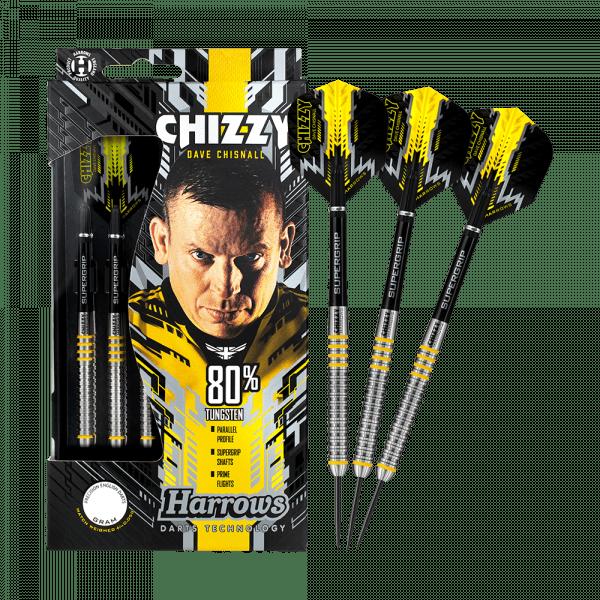 Harrows Dave Chisnall Chizzy 80 % Steeldarts