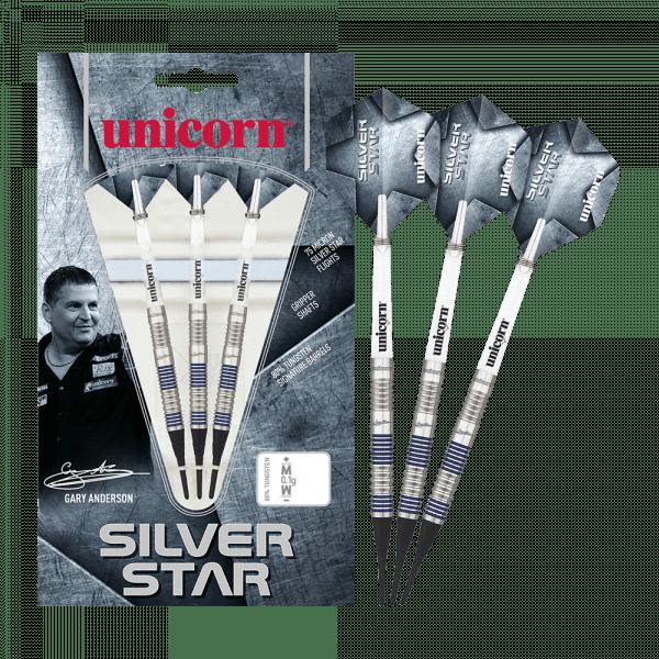 Unicorn Silver Star Var.1 Gary Anderson Softdarts