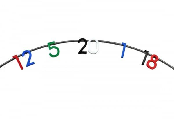 McDart Dartboard Ersatz-Zahlenring + Ersatznummern weiss