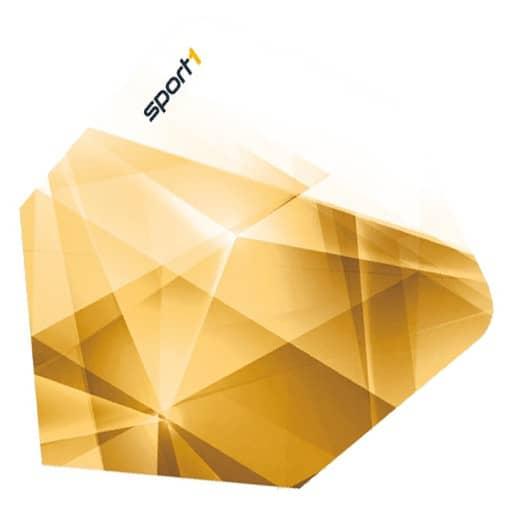 5 Satz Sport1 2016 Golden Win Flights - Gold-Weiß