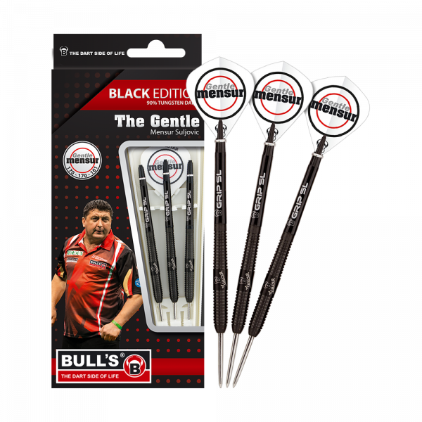 BULL'S Champions Mensur Suljovic Black-Edition Steeldarts