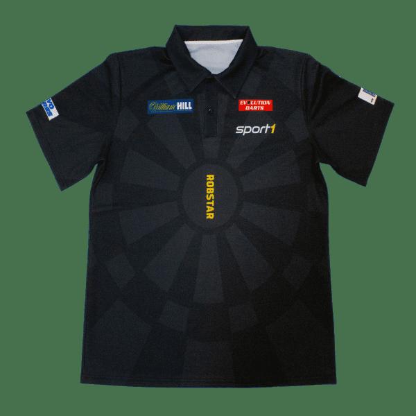 "Robert ""Robstar"" Marijanovic DARTS WM Shirt 2018/2019 - schwarz"