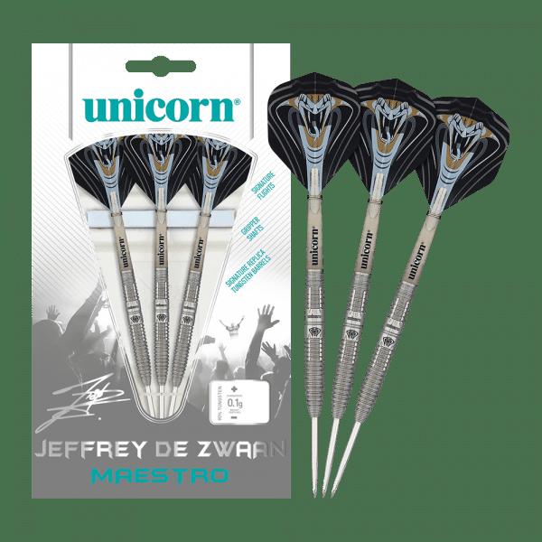 Unicorn Maestro Jeffrey De Zwaan Steeldarts - 23 g