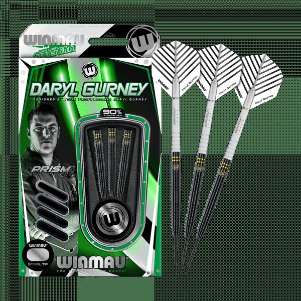 Winmau Daryl Gurney Black Special Edition Steeldarts - 25 g