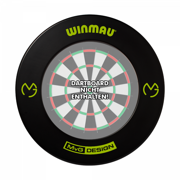 Winmau MvG Dartboard Surround - Schwarz