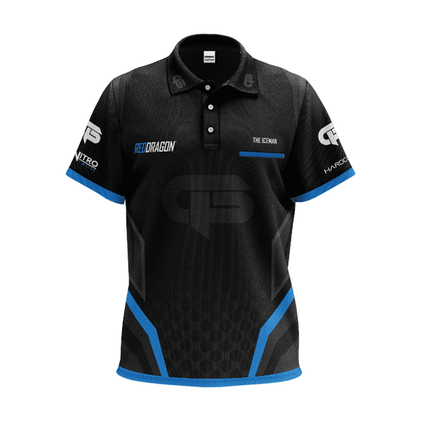 Red Dragon Gerwyn Price Tour Polo Shirt 2020