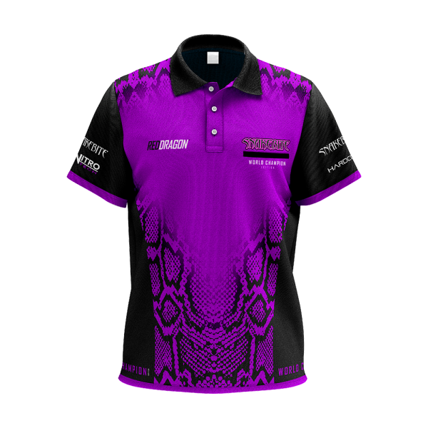 Red Dragon Peter Wright World Champion Tour Polo Shirt
