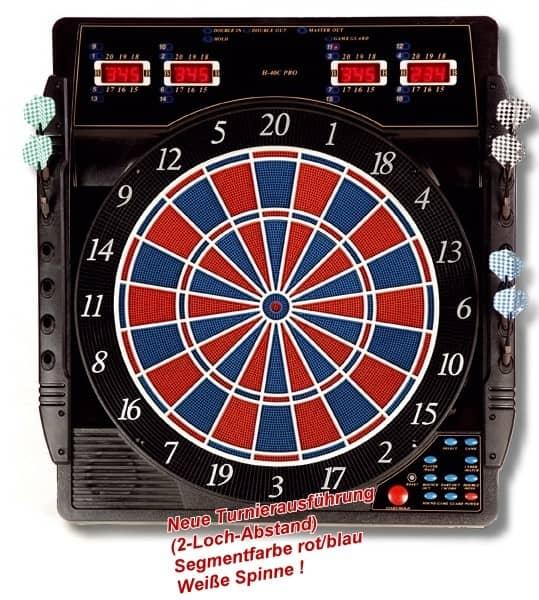 Elektronische Dartscheibe CB 50 Turnierausführung